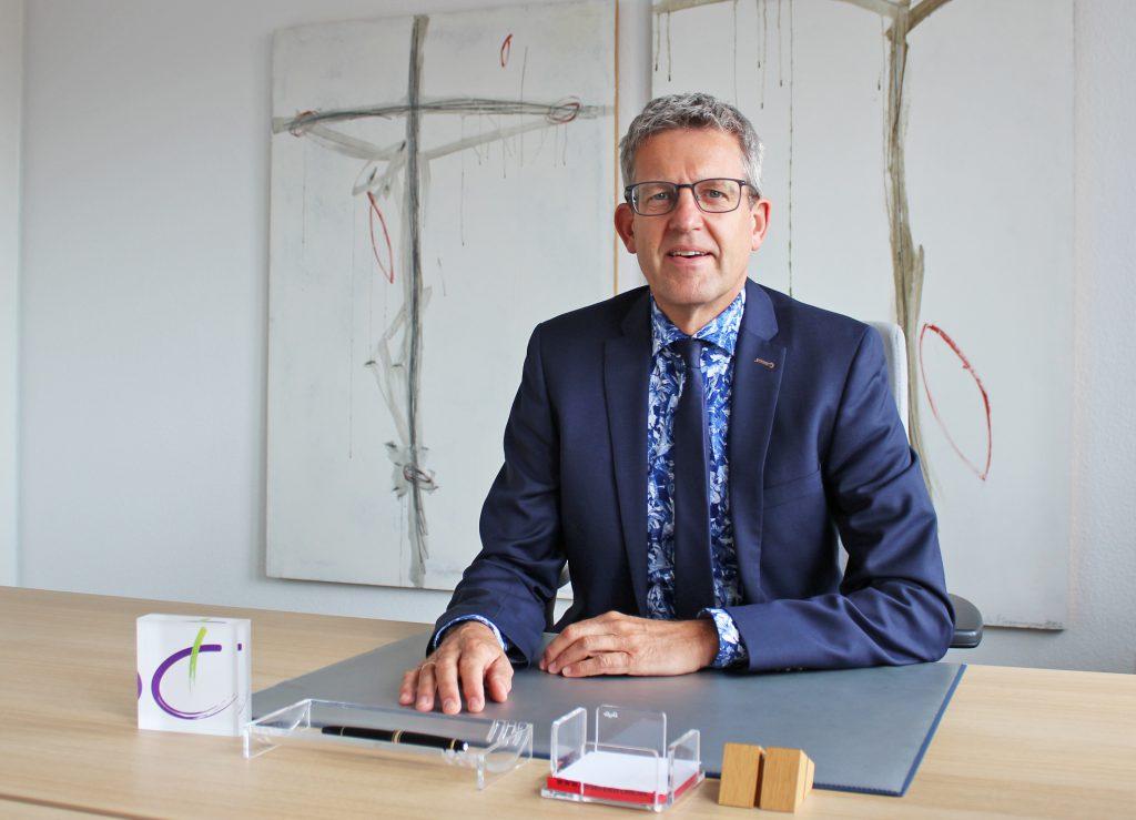 Superintendent Volker Neuhoff. Foto: Heide Welslau