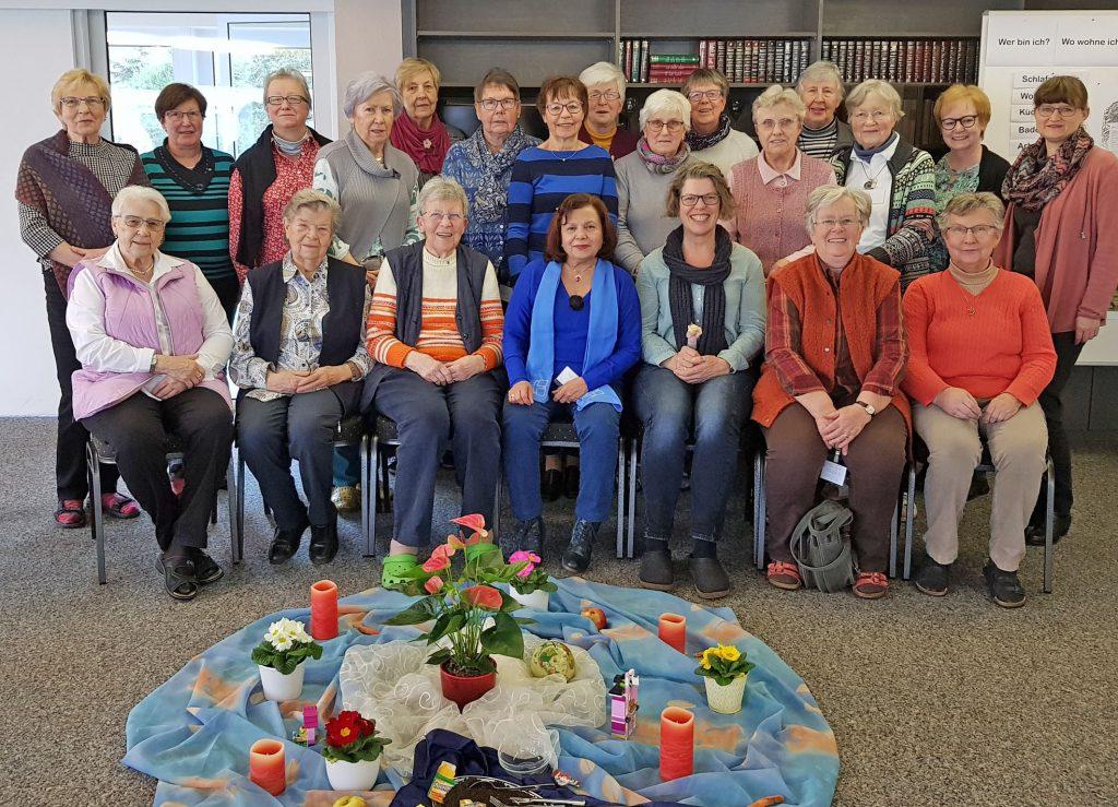 Gruppenbild der Tagung der Evangelischen Frauenhilfe zum Jahresthema 2020. FOTO: ASTRID TIMERBERG