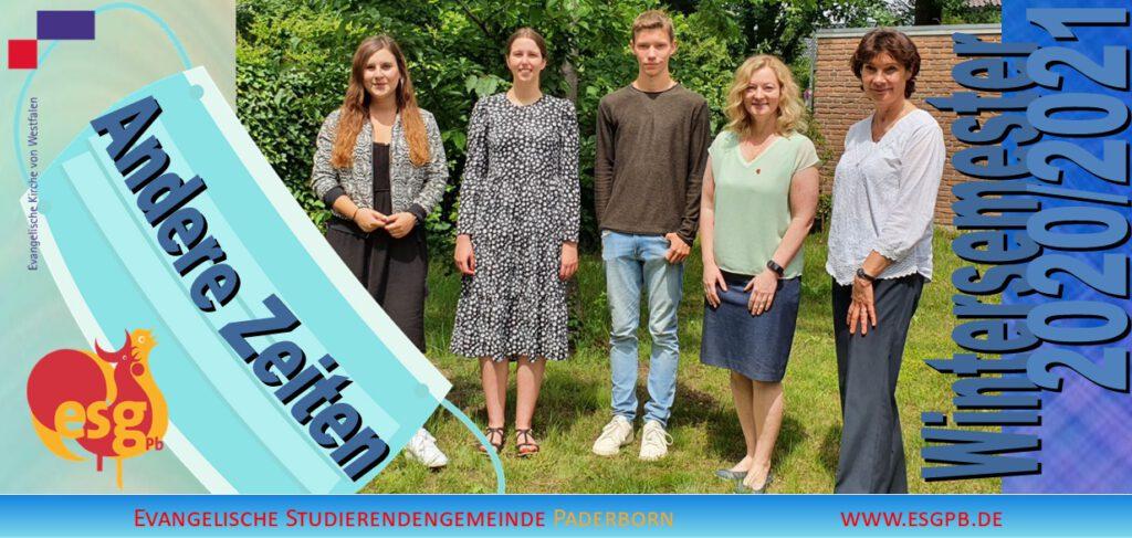 Das neue Programm der ESG Paderborn ist erschienen. Das Teamfoto wurde noch vor den aktuellen Corona-Bestimmungen aufgenommen. Foto: ESG